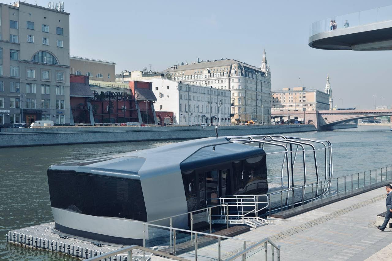 Первые электрические речные трамваи будут курсировать по Москве-реке в 2022 году