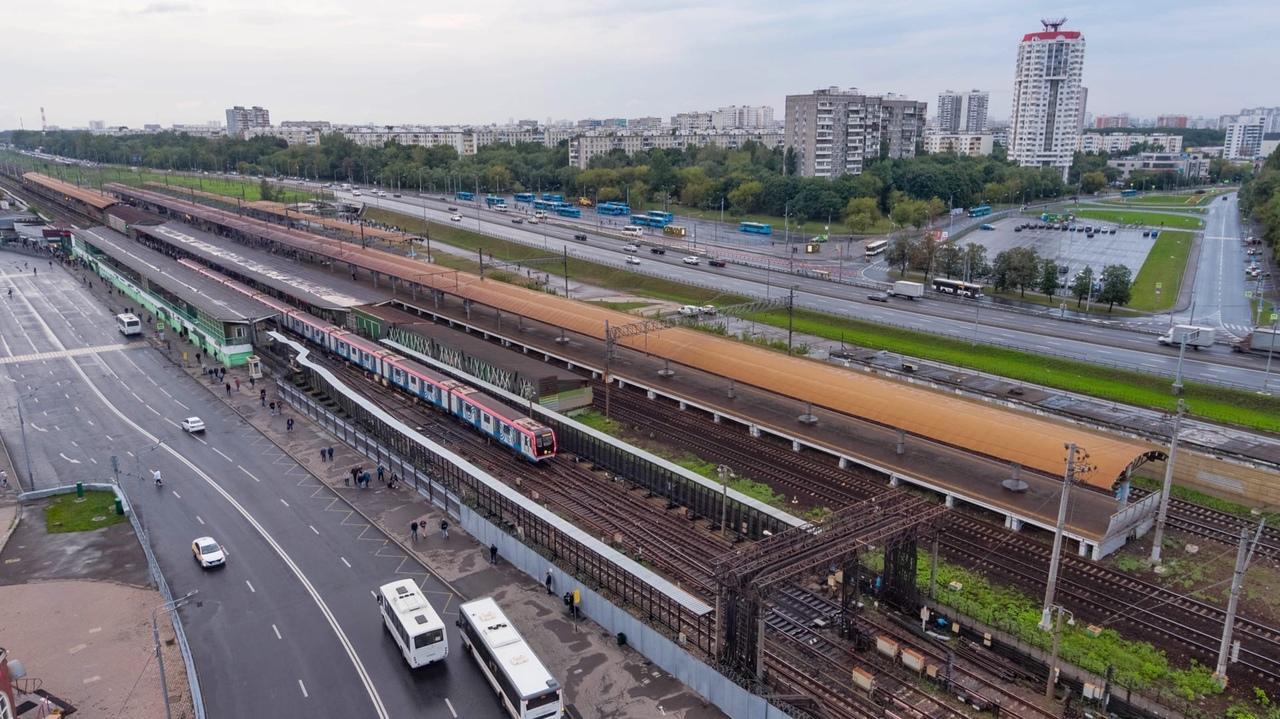 """ТПУ """"Выхино"""" на юго-востоке Москвы начнут реконструировать в 2022 году"""