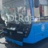 Восемь человек обратились за медпомощью после ДТП автобуса с грузовиком в Москве