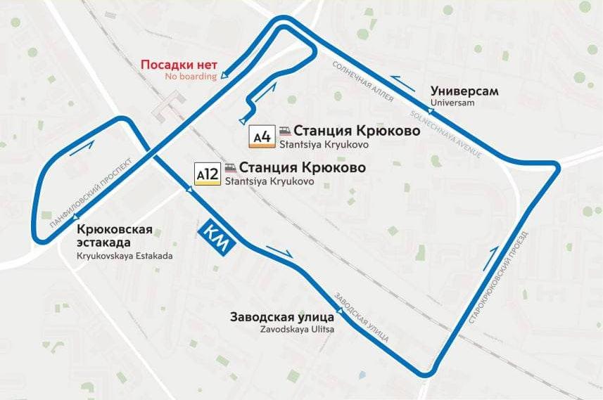 Компенсационный маршрут автобуса запустят в Зеленограде