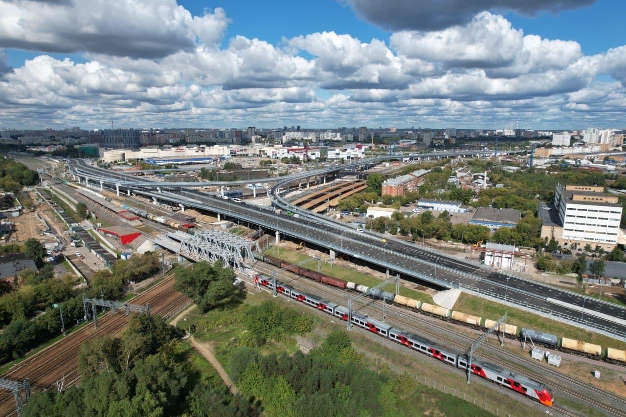 Введен участок Северо-Восточной хорды между Открытым и Ярославским шоссе