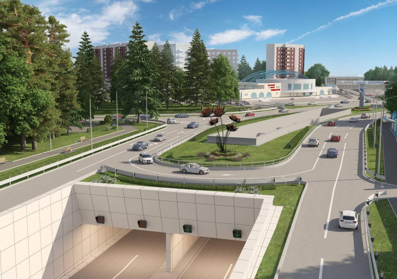 Реконструкцию улицы Туполева в Жуковском планируется завершить в 2022 году
