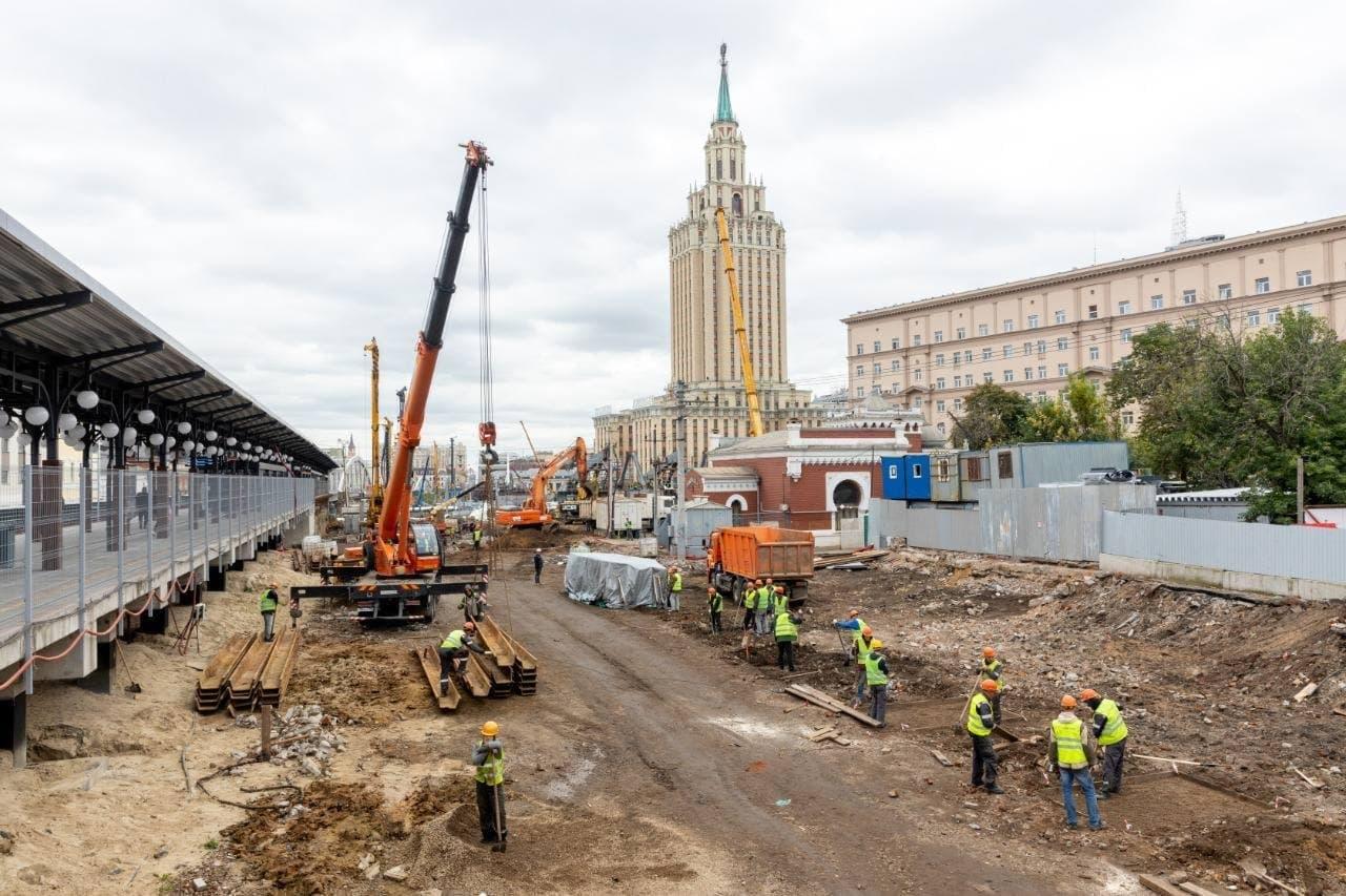 """Собянин предложил обсудить название новой станции МЦД """"Каланчевская"""""""