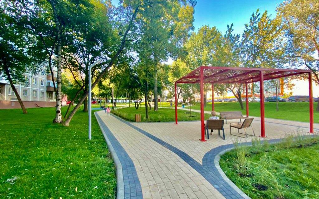 Более 80 общественных территорий благоустроено в новой Москве с 2012 года
