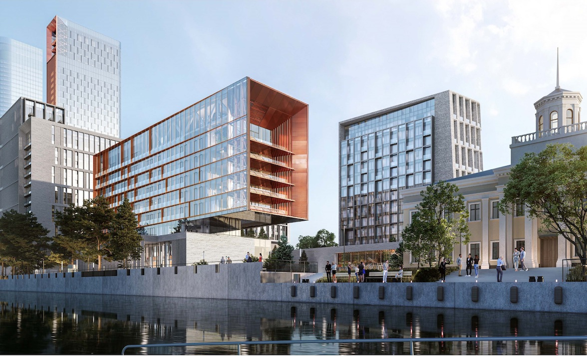 Жилые дома планируется построить на месте Северного порта