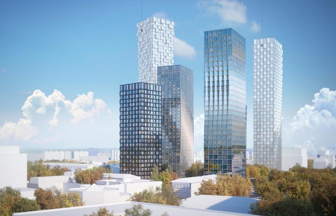 Высотный жилой комплекс построят на юге Москвы